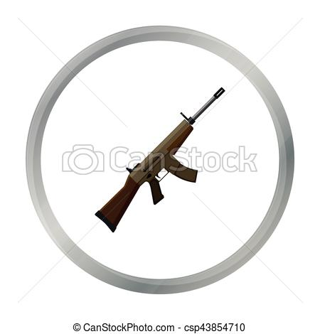 Assault Rifle clipart military Style and assault style cartoon