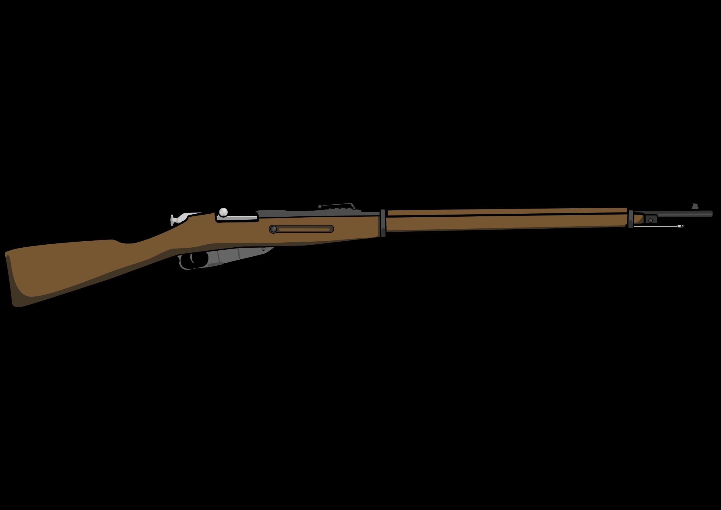 Assault Rifle clipart vietnam war Mosin Clipart 1891 Nagant Mosin