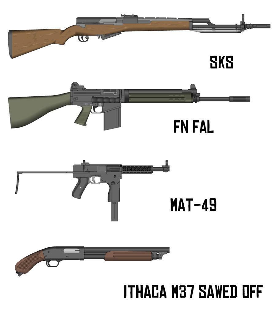 Assault Rifle clipart vietnam war Com by 2 Weapons military