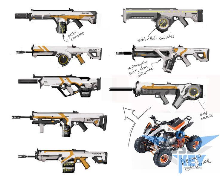 Assault Rifle clipart weapon BlueStreak Art Aerator 1751 best