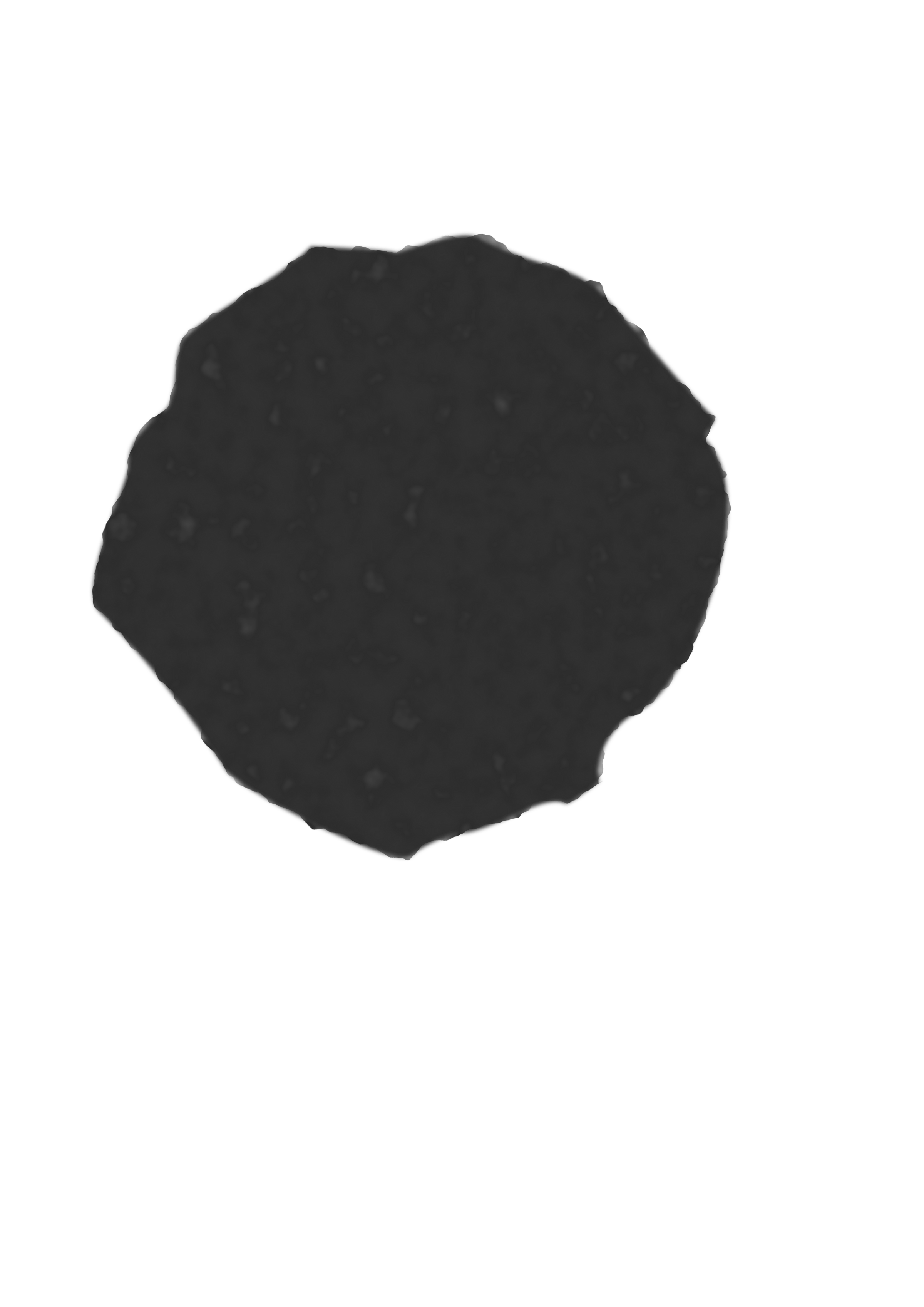 Asteroid clipart Clipart (no remix shading) shading)