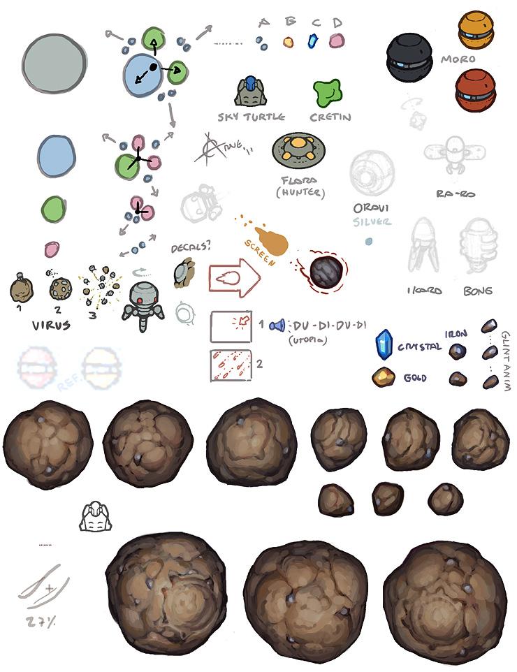 Asteroid clipart sprite Asteroid Gallery Asteroid Sprite Sprite