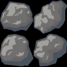 Asteroid clipart sprite Asteroids Pinterest 2d 2D Spaceship