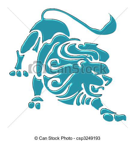 Astrology clipart leo Sign sign Leo  csp3249193