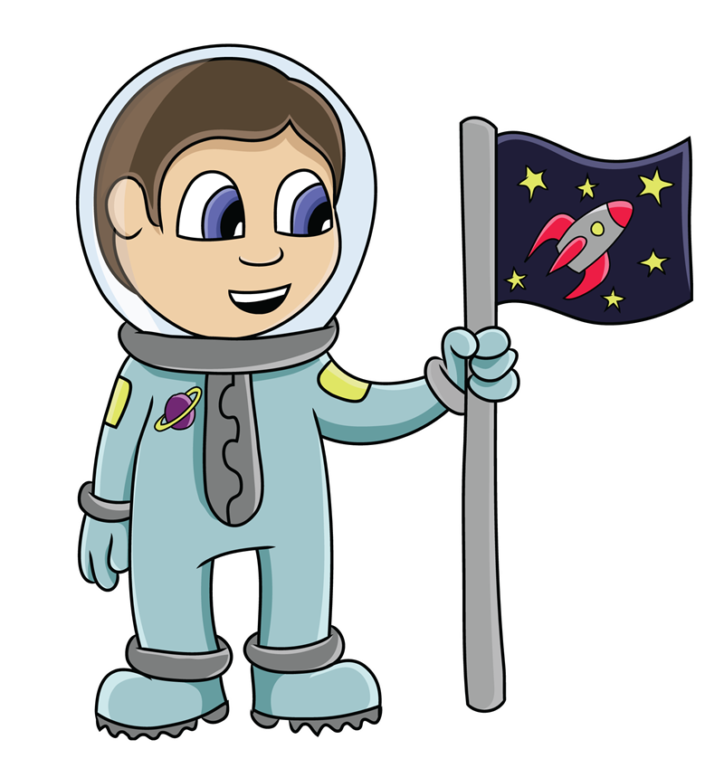 Astronaut clipart Free Free Art to &