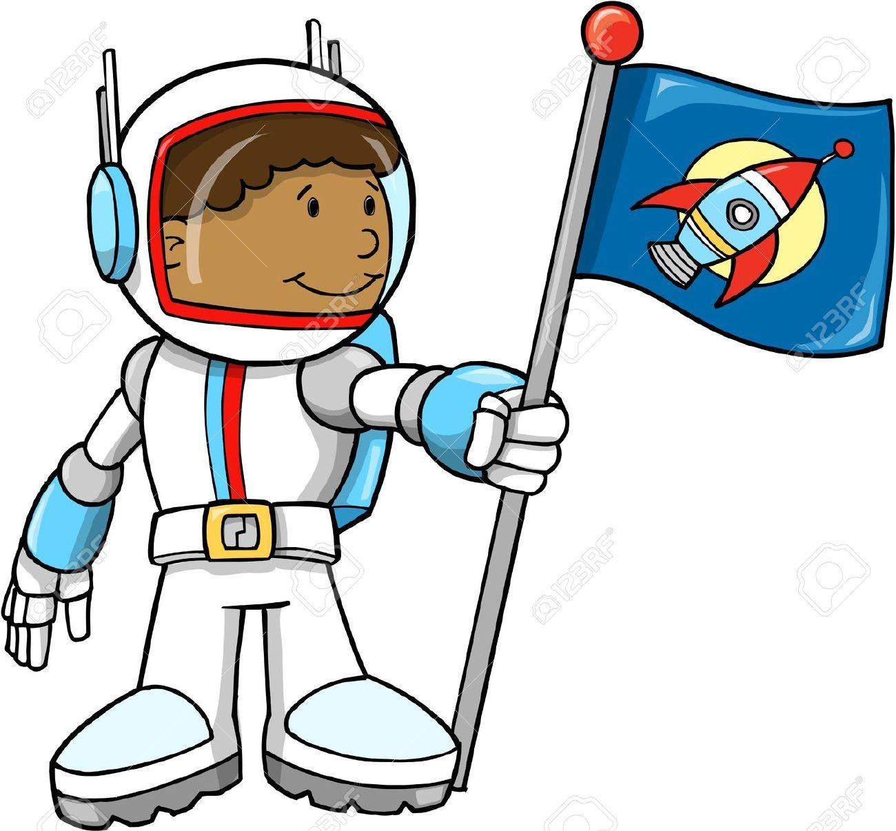 Boy clipart astronaut Art Clipart Astronaut Astronaut Clip