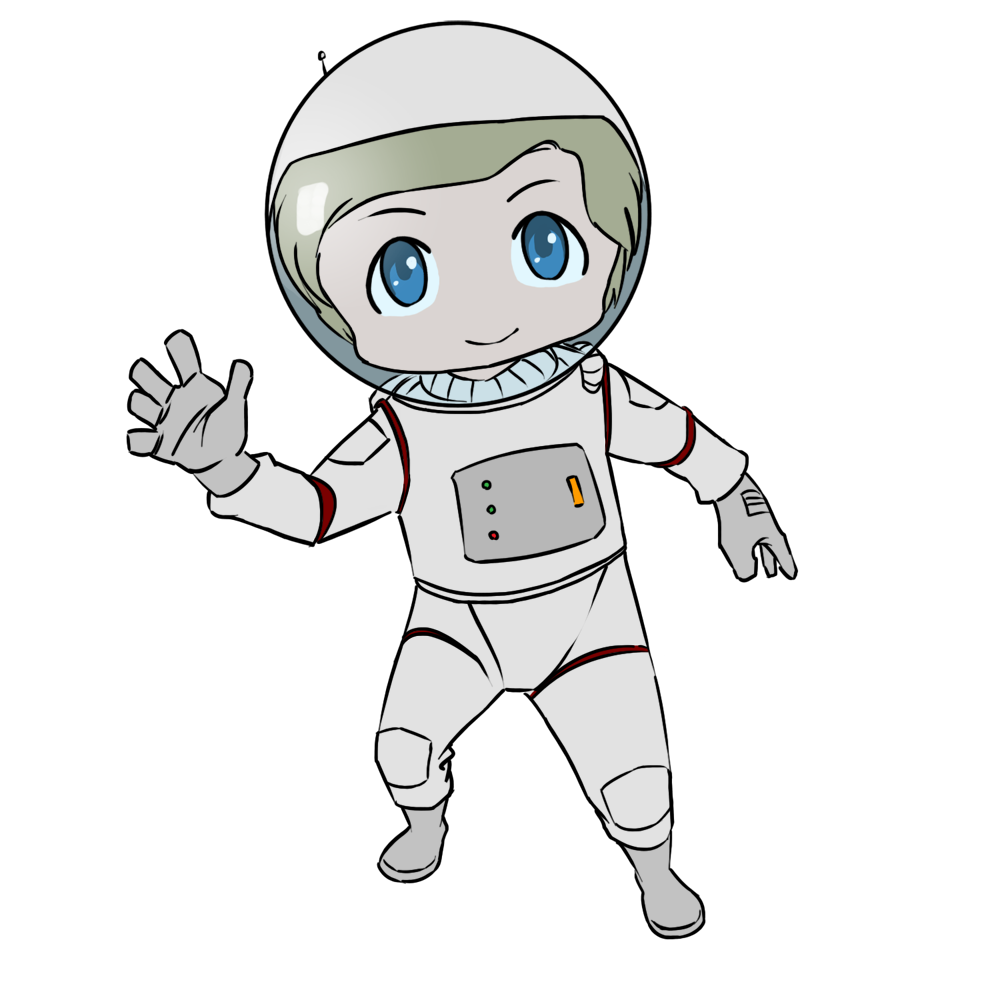 Astronaut clipart Free comic astronaut Use art