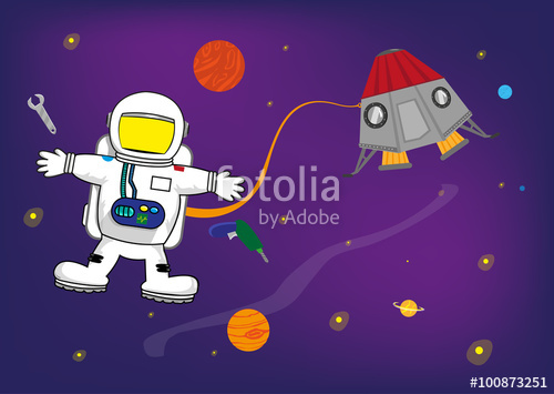 Astronaut clipart for kid Astronaut Astronaut Kids Pictures Personalized