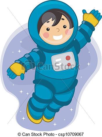 Boy clipart astronaut 6 a Astronaut  Male