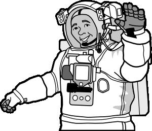 Astronaut clipart drawn Art Art Download Astronaut