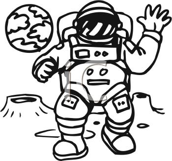 Astronaut clipart drawn Art Astronaut #125 #125 clip