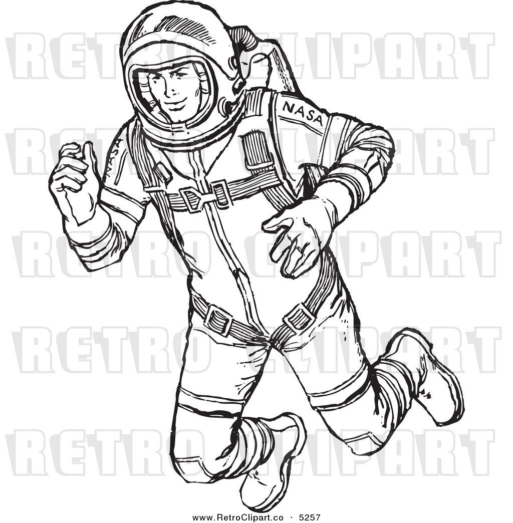 Astronaut clipart drawn Art Astronaut #4 #42 clip