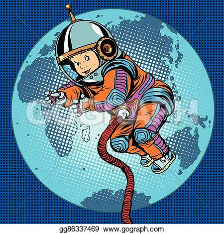 Astronaut clipart earth space Space  pop and earth