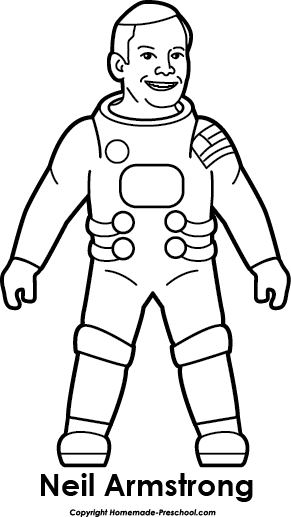 Astronaut clipart for kid Click Apollo Save Free Image