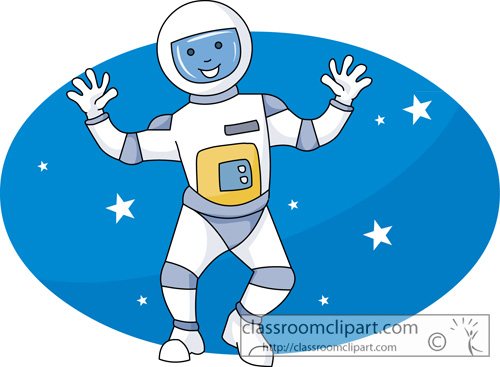 Astronaut clipart space science Search 45 graphics pictures Free