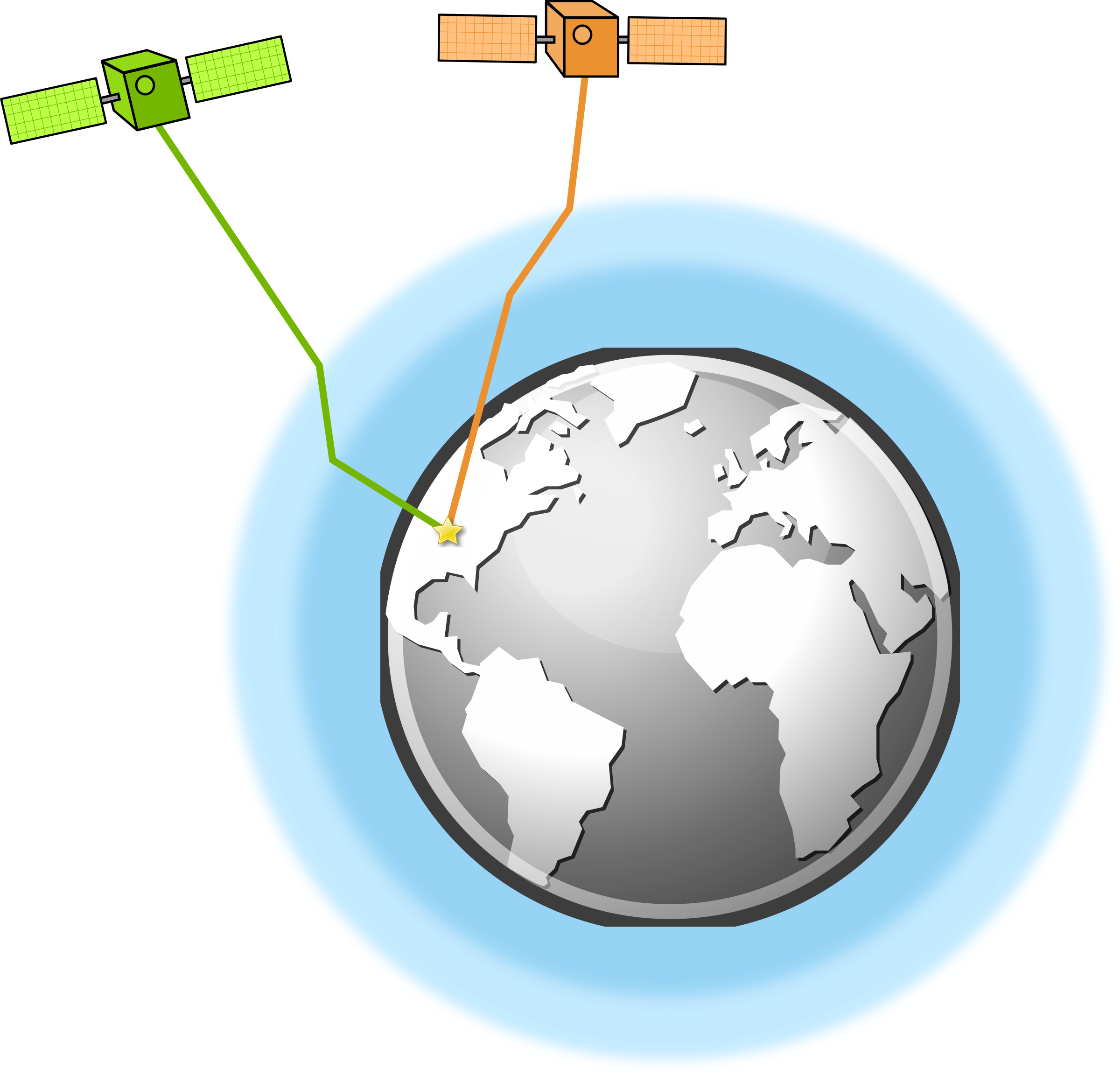 Atmosphere clipart earth Atmospheric Clipart GPS conditions conditions