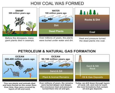 Atmosphere clipart fossil fuel Fossil 1D: Fossil Hydrocarbons Fuels