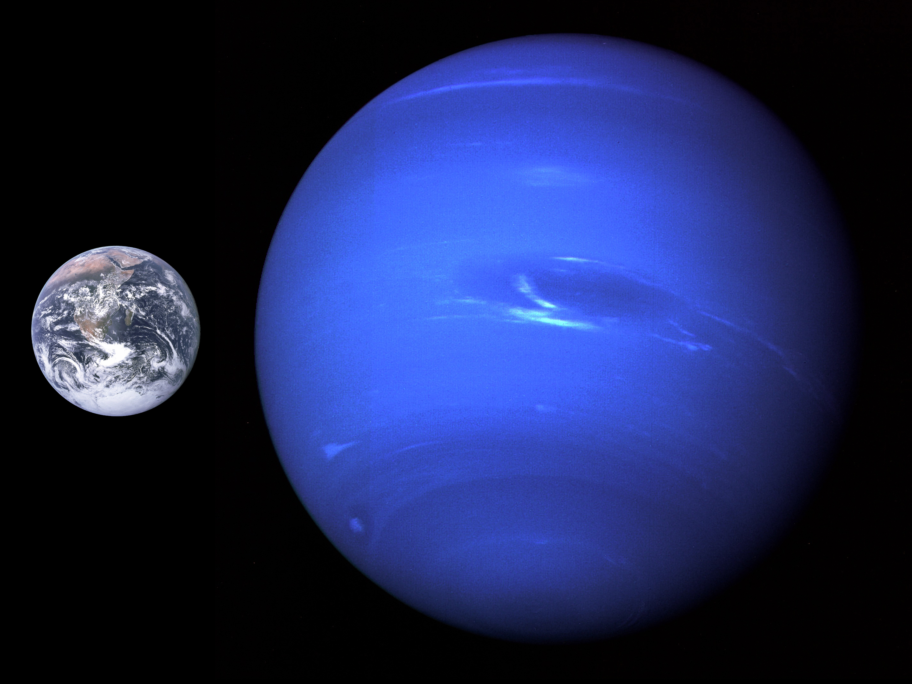 Atmosphere clipart neptune Earth A size  photo