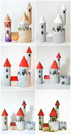 Atmosphere clipart recycled material DIY of castle impressive and