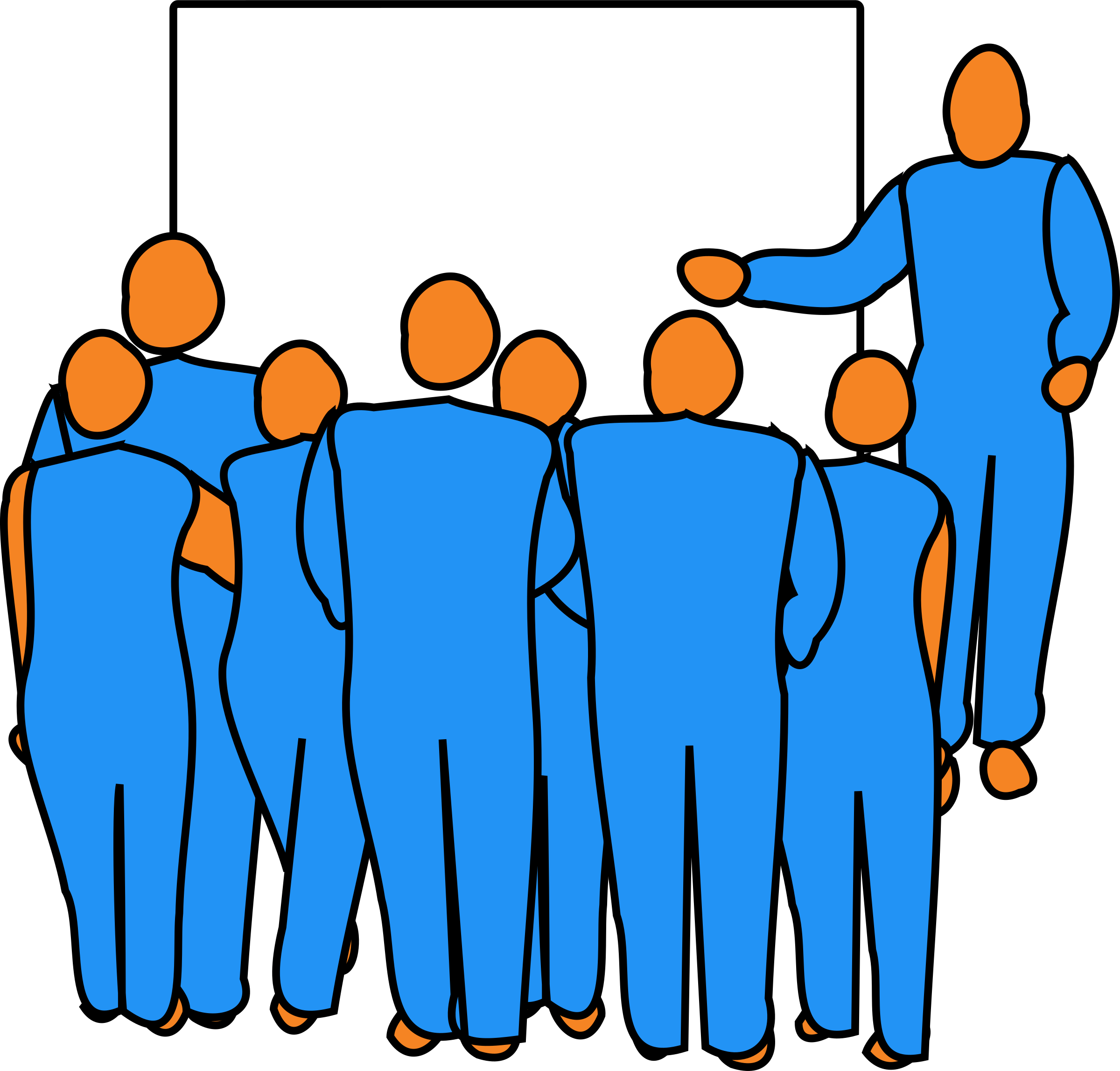 Audience clipart main character (PNG) IMAGE Presentation Clipart BIG