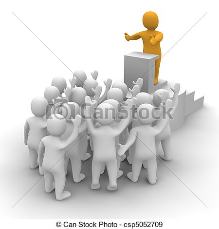 Audience clipart 669270 Stock Image: clipart Audience