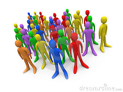 Audience clipart art Of people collection crowd clipart