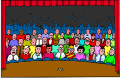 Audience clipart art Presenting Tips Pros and When