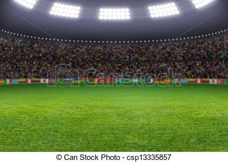 Audience clipart soccer stadium Stadium Stock Soccer Soccer soccer