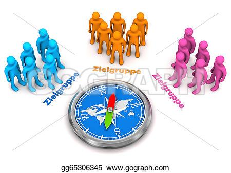 Audience clipart target audience Text german zielgruppe Compass gg65306345