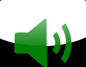 Audio clipart Art Green Clip Icon