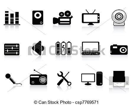 Microphone clipart audio visual #9
