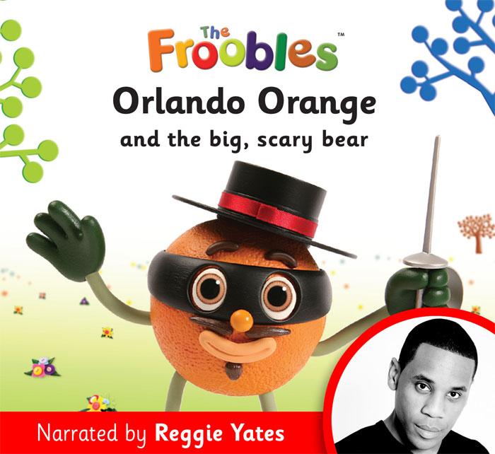 Audio clipart ebook  Orange Orlando [Audio eBook]