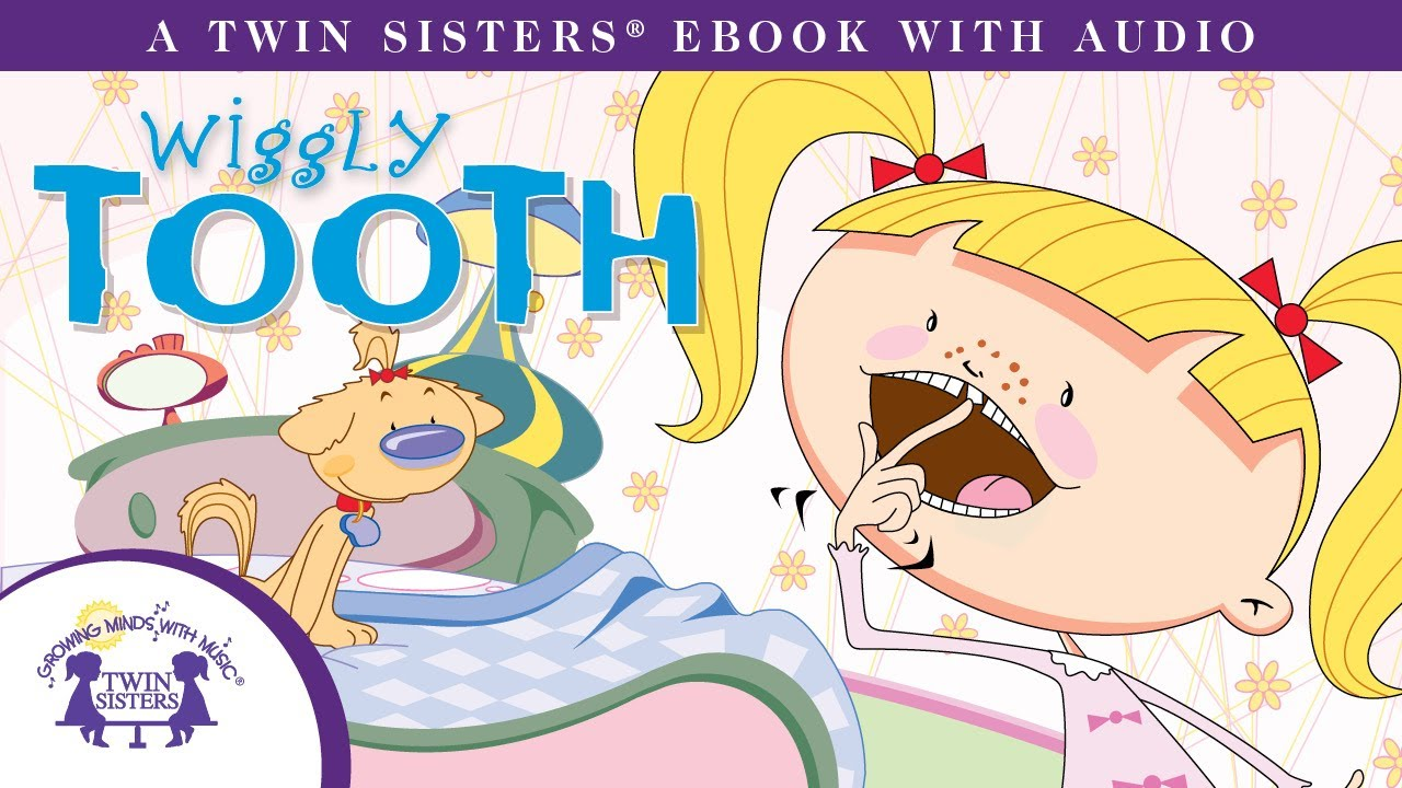 Audio clipart ebook A with Wiggly A Tooth