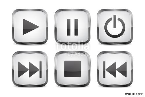 Audio clipart pause button #9