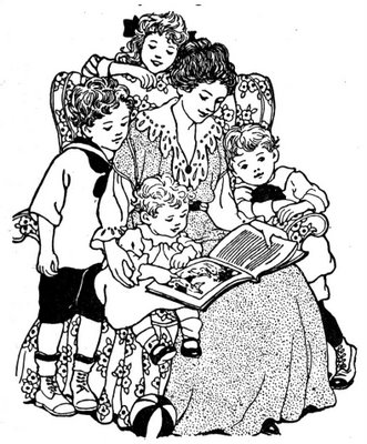Audio clipart reading aloud #9