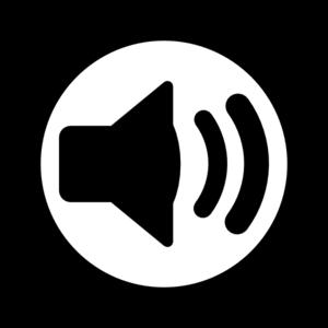 Audio clipart vector Clip at Audio free Audio