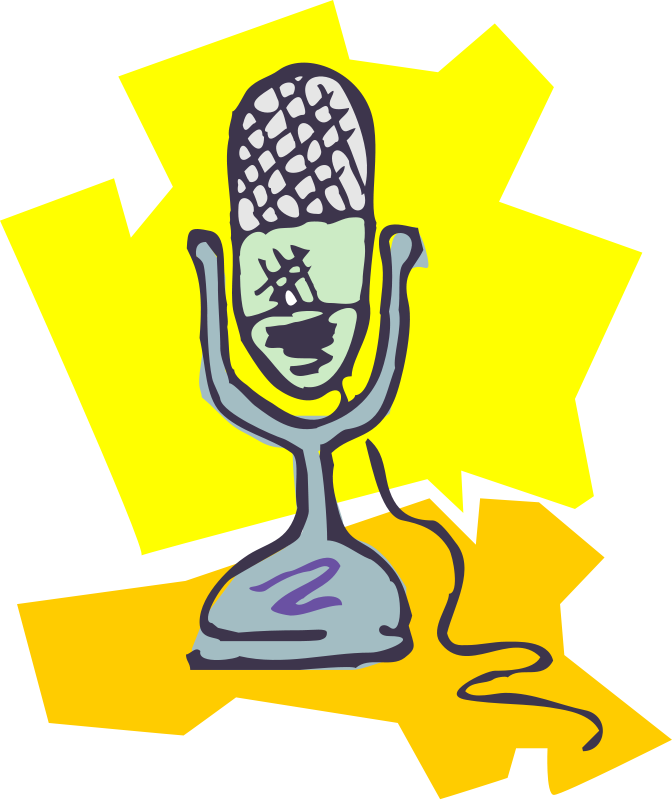 Microphone clipart awesome #14