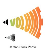 Audio clipart volume Level of Volume of loudness