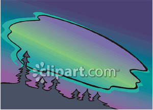 Aurora Borealis clipart Borealis The Clipart Lights The
