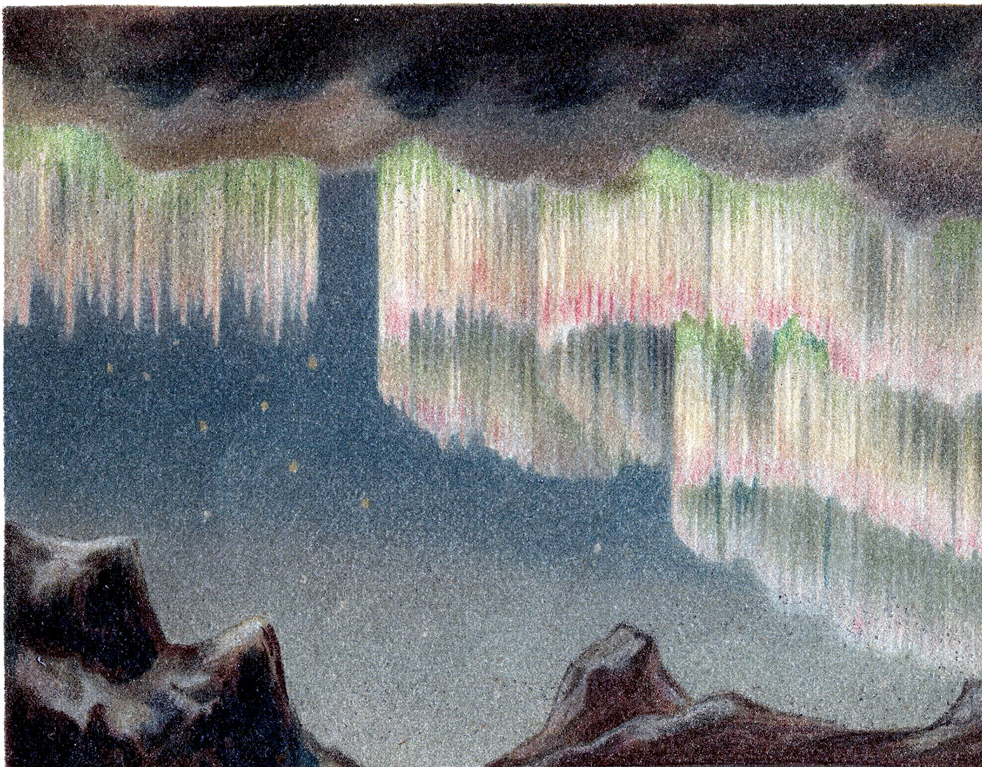 Aurora Borealis clipart auroa A Lights Polar Beautiful Lights