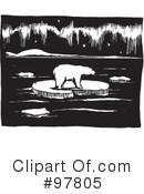 Aurora Borealis clipart black and white Free #225624 #97805 by Northern