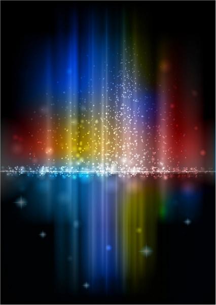 Aurora Borealis clipart black and white Rainbow vector vector (51 free
