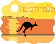 Australia clipart Australia view Clipart Pictures Illustrations