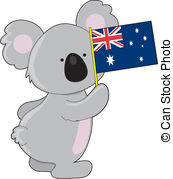Australia clipart Illustrations and A Australian cute