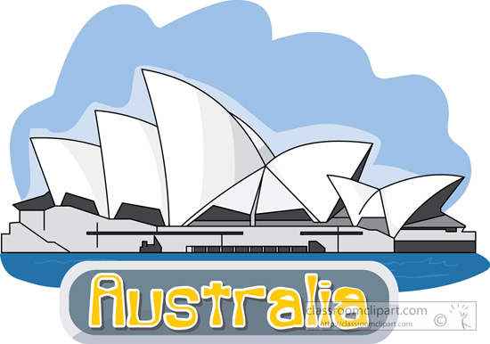 Australia clipart Pictures Graphics clipart opera Size: