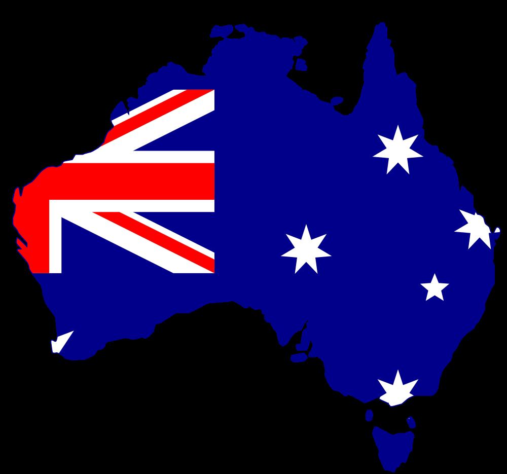 Australia clipart 67 art Australia Fans #3