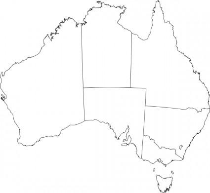 Australia clipart Australia Map Clipart Australia 425x391 clipart art clip
