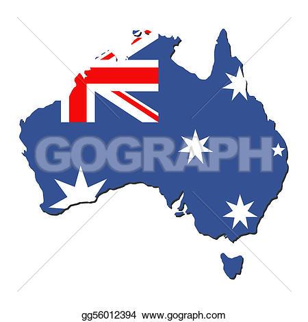 Australia clipart Australia Map Clipart Gg56012394 gg56012394 australian Stock Clipart
