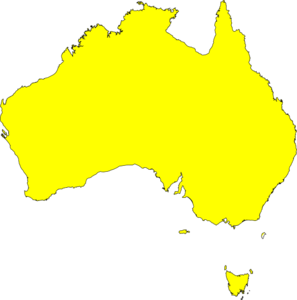 Australia clipart Australia Map Clipart At Map Clker Art Clip