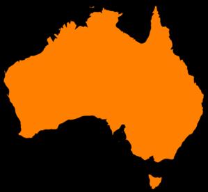Australia clipart Australia Map Clipart Clip at art vector Australia
